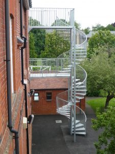 Fire Escape Stairwell Cleaning Services